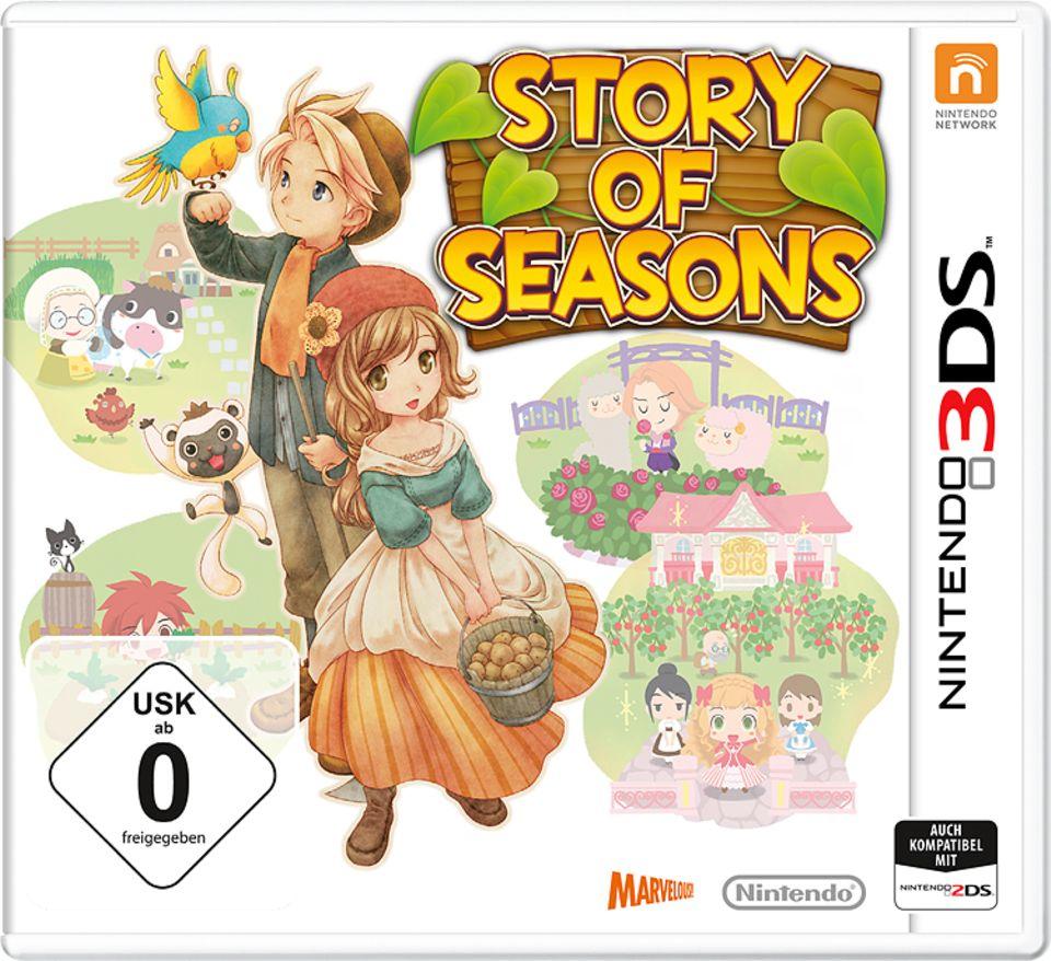 """Konsolenspiel: Spiel-Cover """"Story of Seasons"""""""