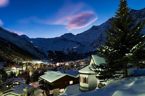 Schweiz: Saas-Fee - günstig und entspannt