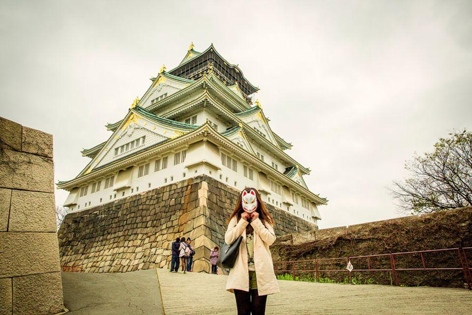 Beliebte Stadtteile: Die Osaka Burg ist eines der Touristenziele im Stadtteil Ch&#363&#333-ku