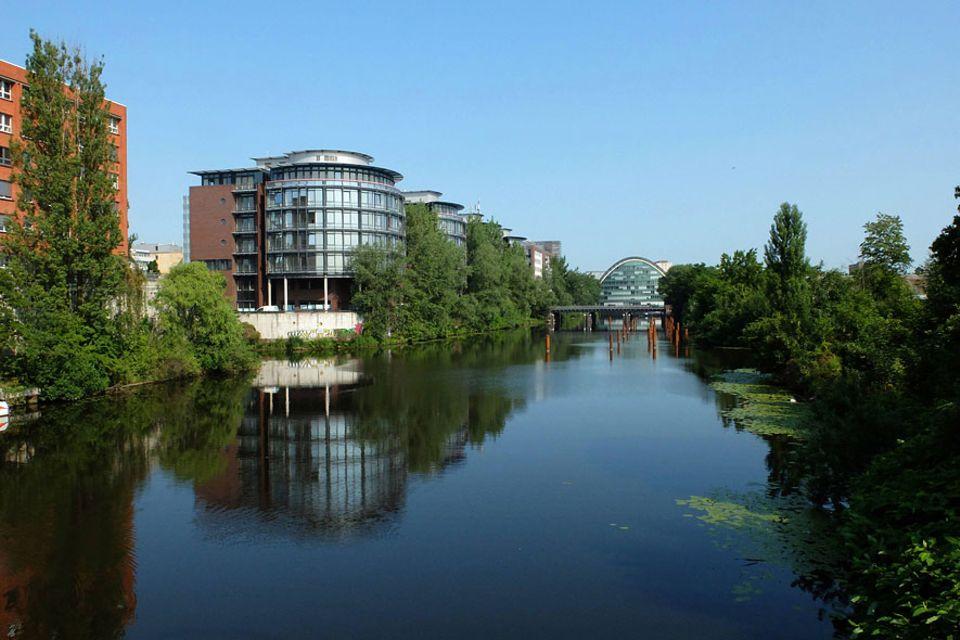 Beliebte Stadtteile: Der Hamburger Stadtteil Hammerbrook ist geprägt von Kanälen und Industriegebäuden