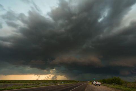 Stürmischer Zeitraffer-Film: Auf der Jagd nach dem Extremwetter