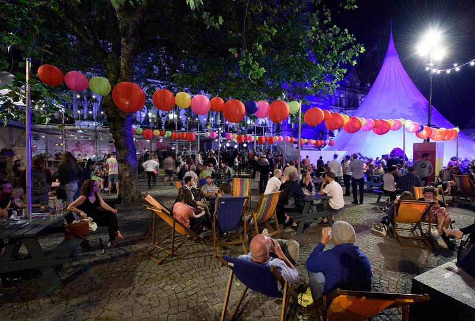 Reisetipps: Theater, Tanz und Musik - während des Manchester International Festival treten an verschiedenen Orten der Stadt Künstler auf