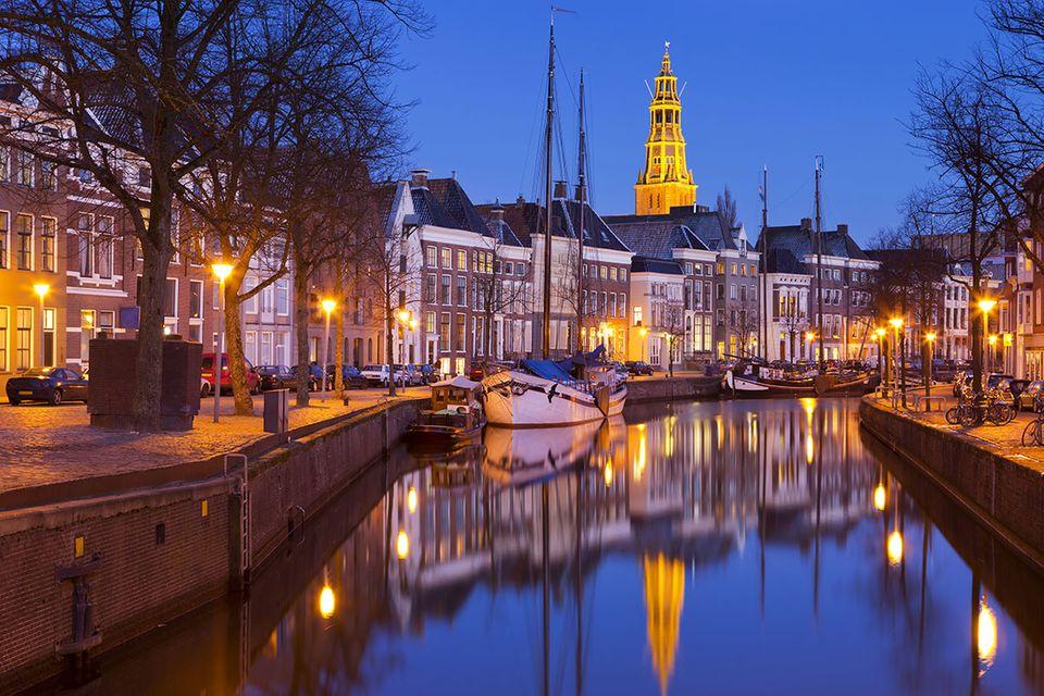 Holland: Groningen - schräg und bunt