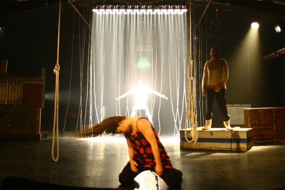 The Freezer: Ein Theaterprojekt im isländischen Nirgendwo