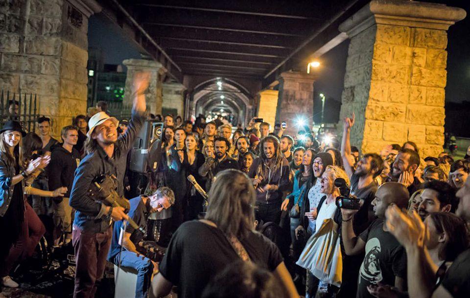 """Berlin: Profibands wie """"The Trouble Notes"""" lassen die Reaktion des Publikums direkt in ihre Musik einfließen"""