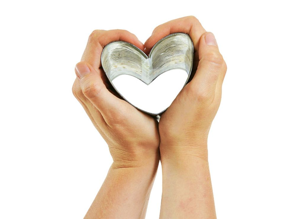 Liebe: Herzdosen-Brot
