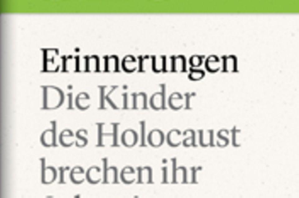 """Die Kinder des Holocaust brechen ihr Schweigen: GEO eBook """"Holocaust"""""""