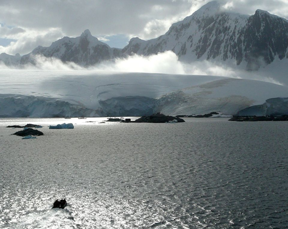 Die Antarktis erstreckt sich auf über 20 Millionen Quadratkilometern