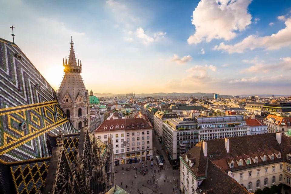 Video: Wien in voller Pracht