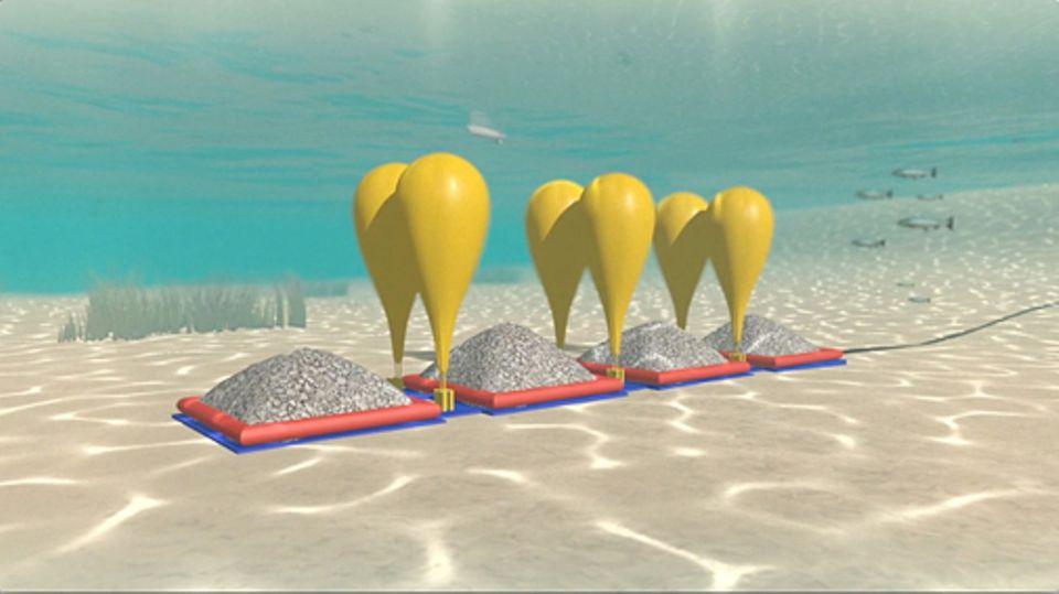 """Energie: """"Strom"""" auf Tauchstation am Boden des Ontariosees"""