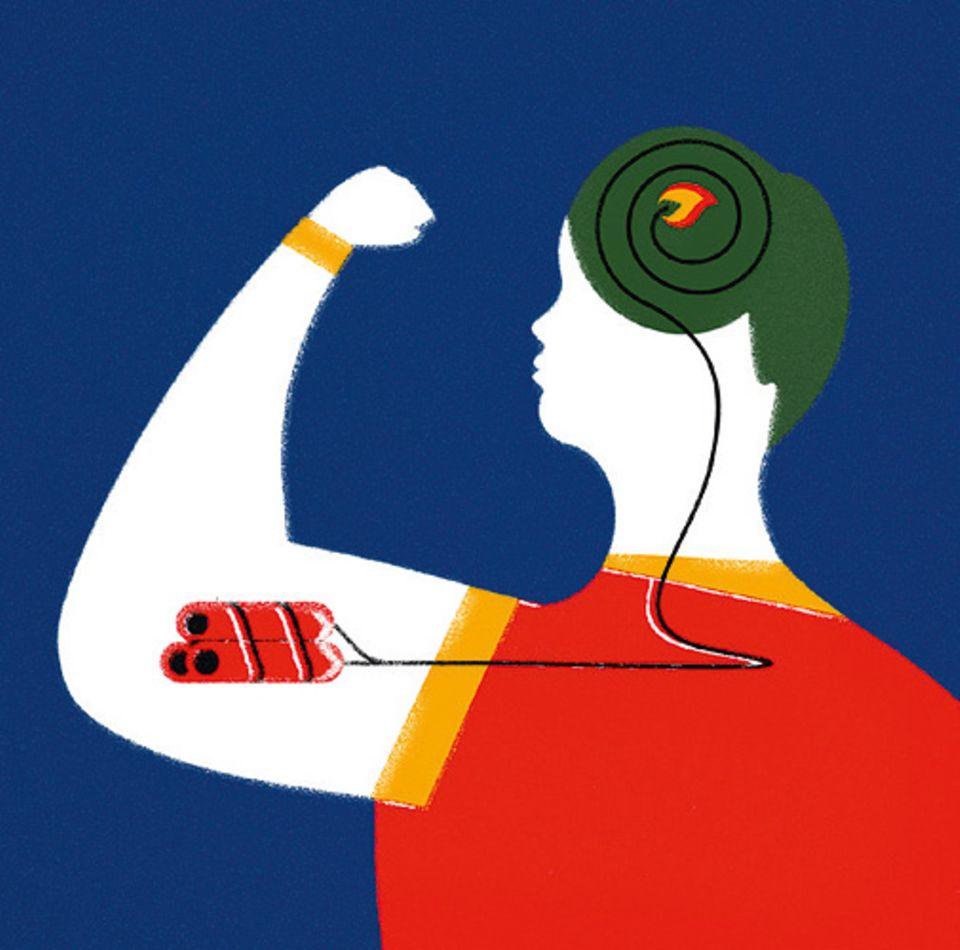 Sportforschung: Vor allem Untrainierte plagt oft ein plötzlicher Schmerz in der Seite