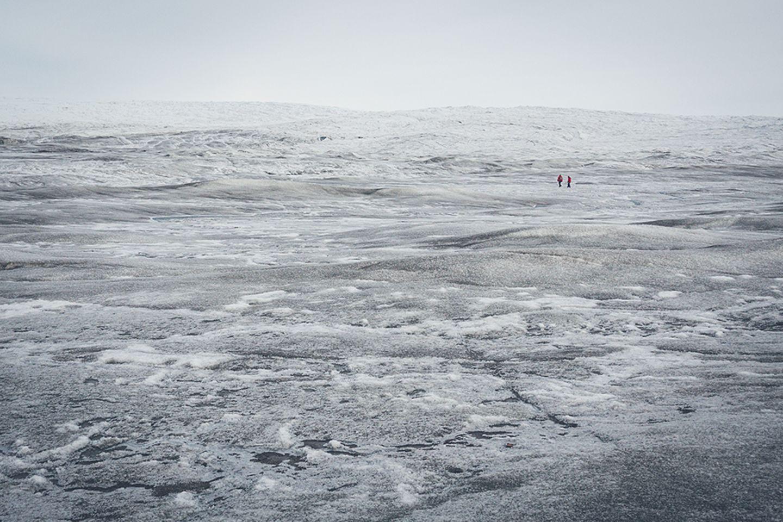 Klimakrise: Der mächtige Eisschild bedeckt mehr als 80 Prozent der Fläche Grönlands. Aber wie lange noch?