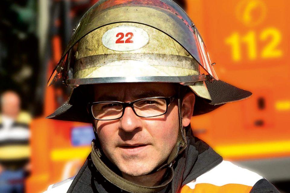 Beruf: Feuerwehrmann Jan Ole Unger im Brandeinsatz
