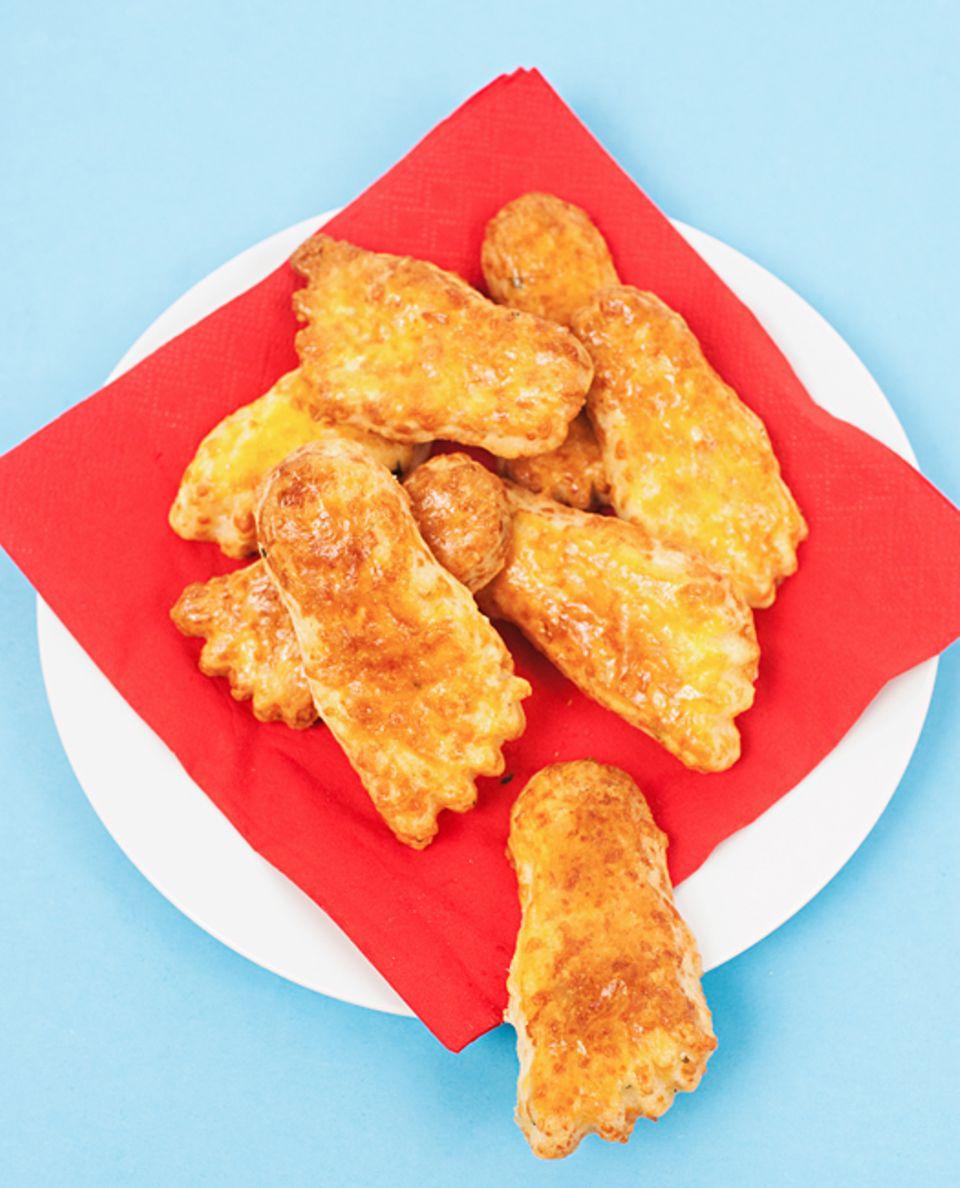 Rezept: Kleiner Snack für zwischendurch: Käsefüße!
