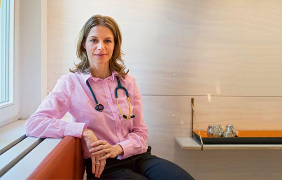 Gesundheit: Dr. Grit Euler, Jahrgang 1976, praktiziert in Berlin als Fachärztin für Kinder- und Jugendmedizin und ist selbst Mutter von zwei Kindern