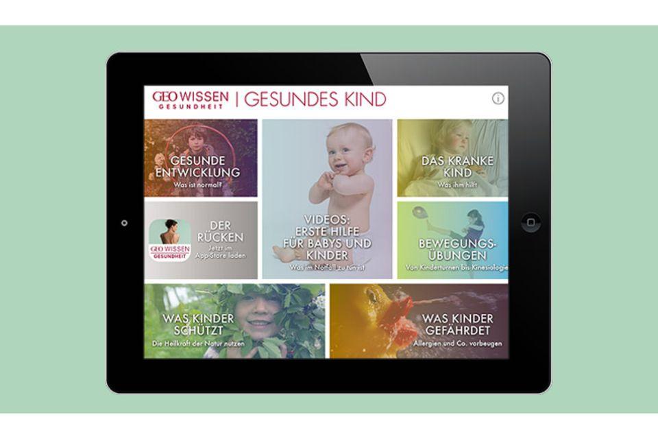 Kindergesundheit: Die App fürs Tablet: Gesundes Kind