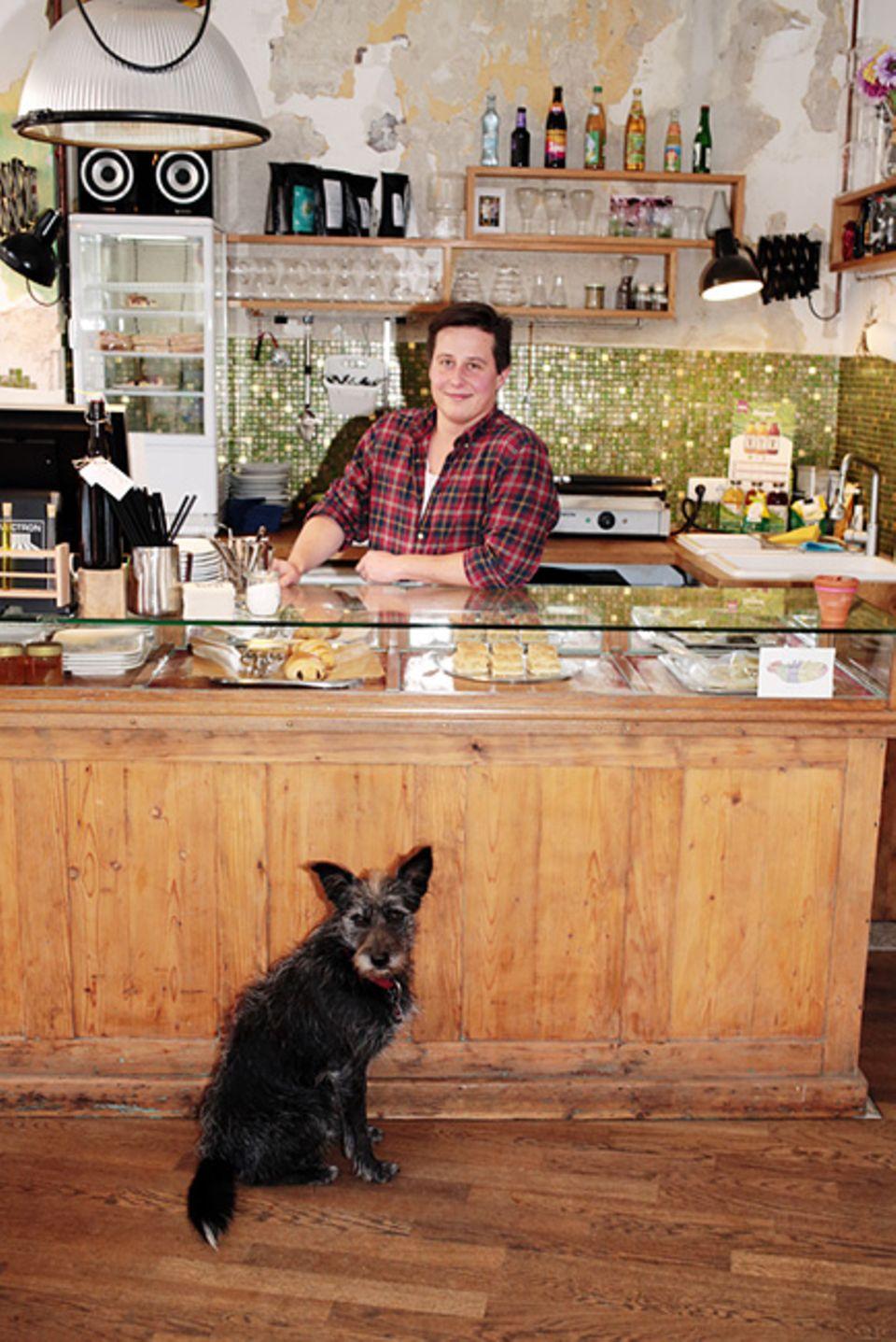 "Giesing: Bioessen und gute Stimmung, das Geheimrezept des netten Cafés ""Bald Neu"""