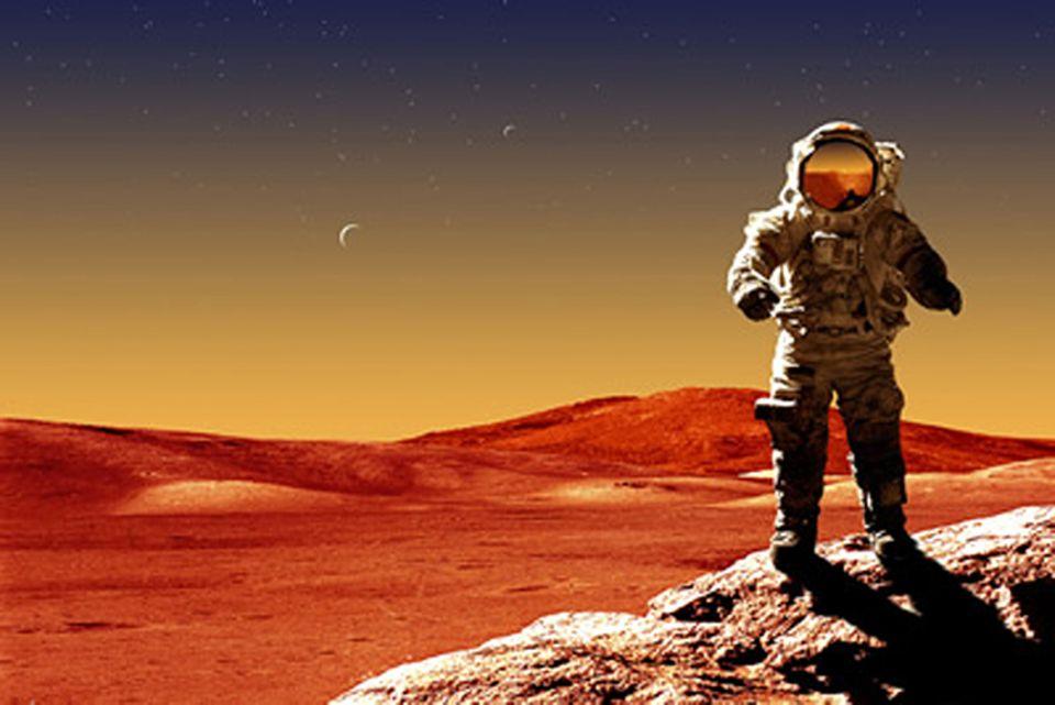 Weltraum: Leben auf dem Mars könnte bald schon möglich sein