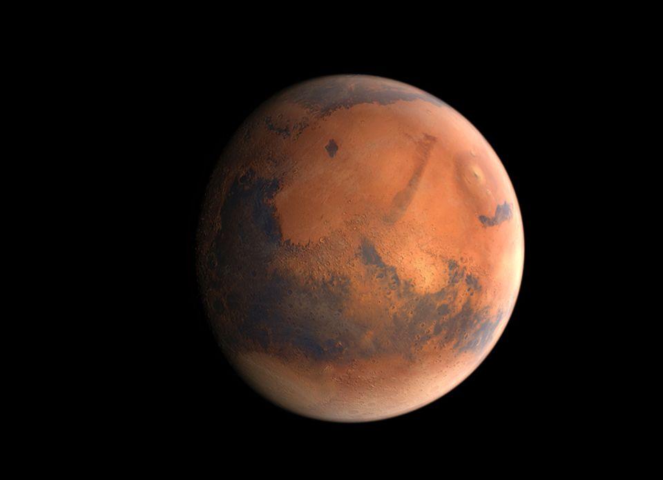"""Weltraum: Der Mars ist """"nur"""" 100 Millionen Kilometer von Erde entfernt"""