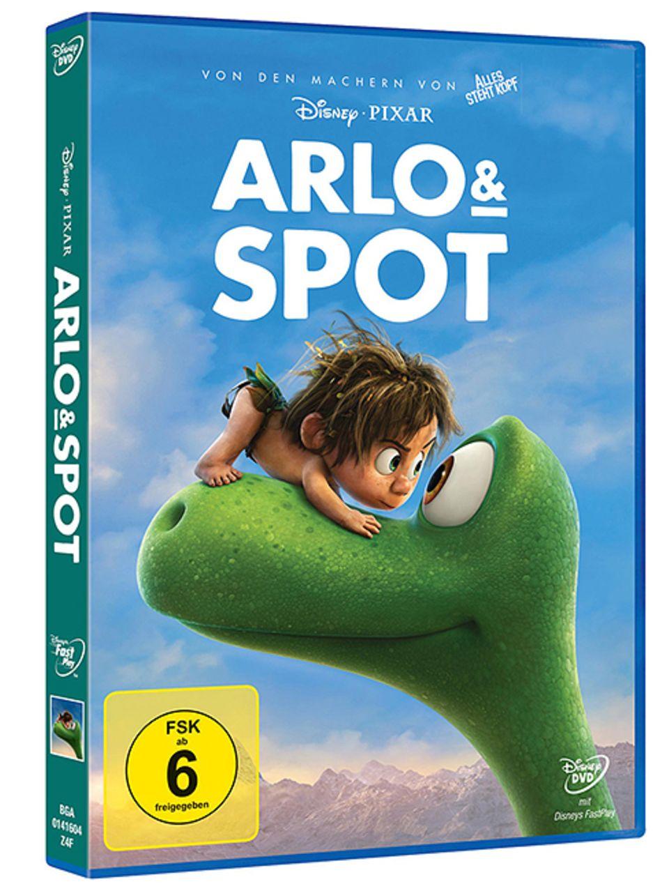Filmtipp: Arlo & Spot: ab dem 31. März 2016 auf DVD und Blu-ray