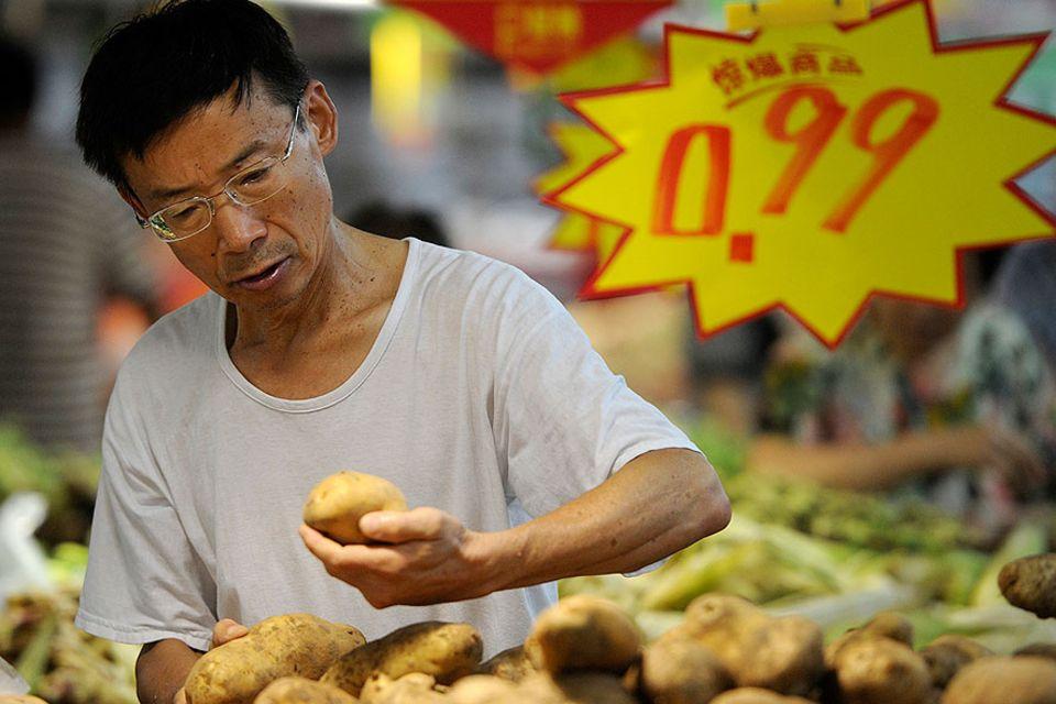 Ernährung: Mehr Kartoffel wagen: Anders als Reis oder Nudeln sind Kartoffeln in China keine Sättigungsbeilage. Das soll sich nach dem Willen der Regierung ändern