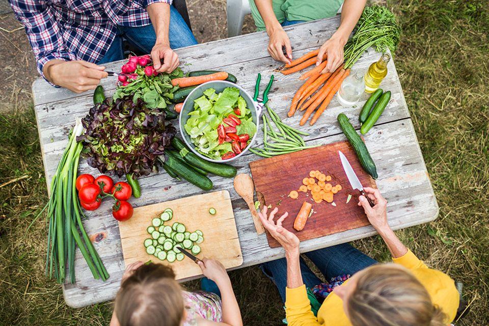 Vegetarische Ernährung: Obst und Gemüse statt Fleisch - das wäre gut für uns und den Planeten