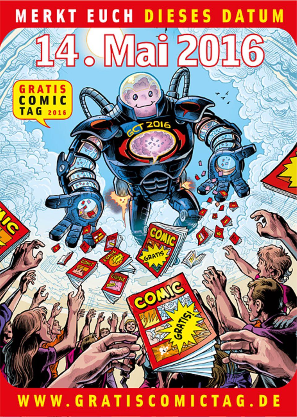 Comics: Am 14. Mai 2016 ist Gratis Comic Tag!