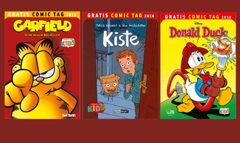 Comics: Garfield oder Donald Duck - wer ist euer Favorit?