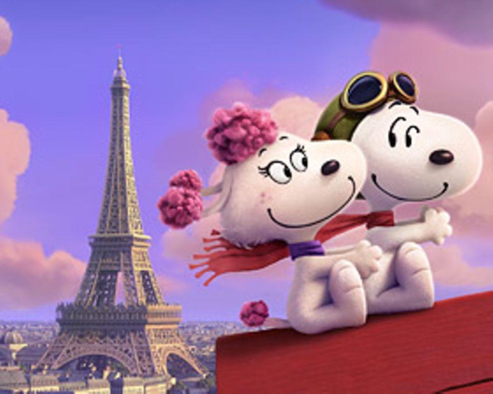 Filmtipp: In seinen Träumen erlebt Snoopy wunderbare Abenteuer mit einer hübschen Pudeldame