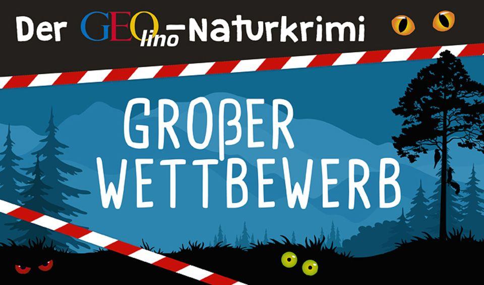 GEO Tag der Artenvielfalt: GEOlino Naturkrimi-Wettbewerb