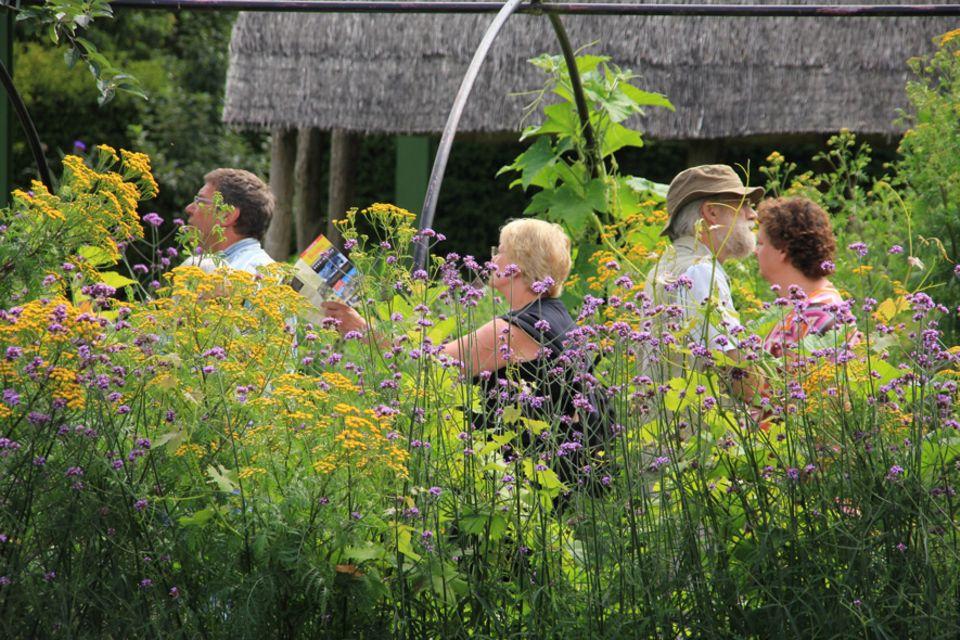 Blühende Fantasie: Klassische Gartenreisende sind fast ausnahmslos über 50 und zu zwei Dritteln weiblich, so eine Studie