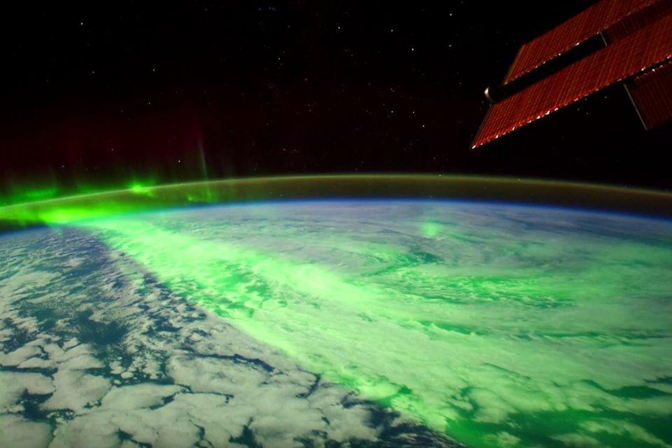 Zeitraffer von der ISS: Nasa veröffentlicht spektakuläres Polarlicht-Video