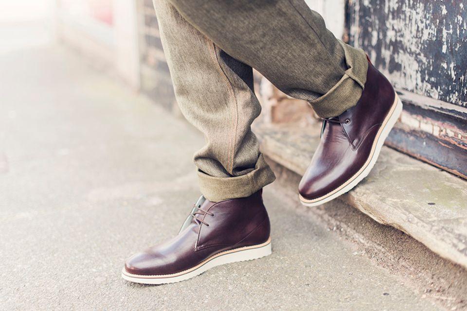 Nachhaltige Mode: Bourgeois Boheme versucht dem Echt-Leder-Stiefel optisch möglichst nahe zu kommen