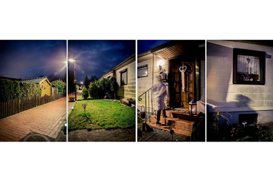 Angst: Die eigene Haustür war für Tülin Pirasalar immer der Eingang zu einem sicheren Ort. Nach einem Einbruch wird sie ein Tor zur Angst
