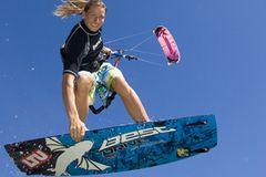 Fotogalerie: Kitesurfen