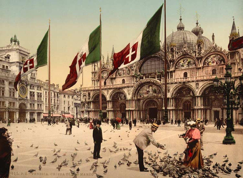Fotogalerie: Damals in Venedig