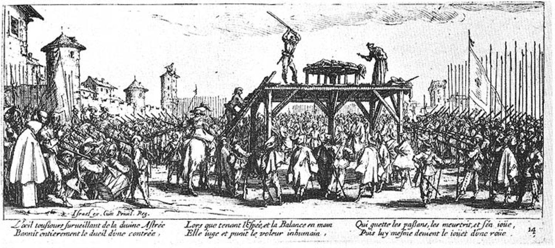 """Bildessay: Callots """"Schrecken und Jammer des Krieges"""" - Bild 14"""