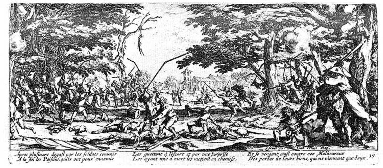 """Bildessay: Callots """"Schrecken und Jammer des Krieges"""" - Bild 16"""