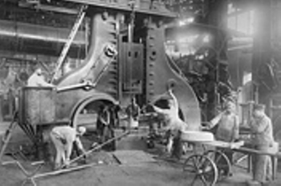 Industrielle Revolution: Fotoshow: Krupps Fabrikstadt