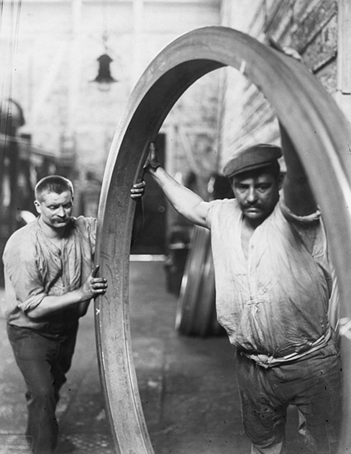 Industrielle Revolution: Fotoshow: Krupps Fabrikstadt - Bild 5