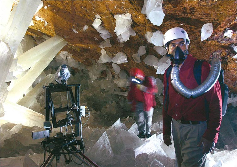 Höhlenforschung: In der Kammer der Kristallriesen - Bild 5