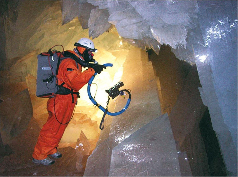 Höhlenforschung: In der Kammer der Kristallriesen - Bild 6