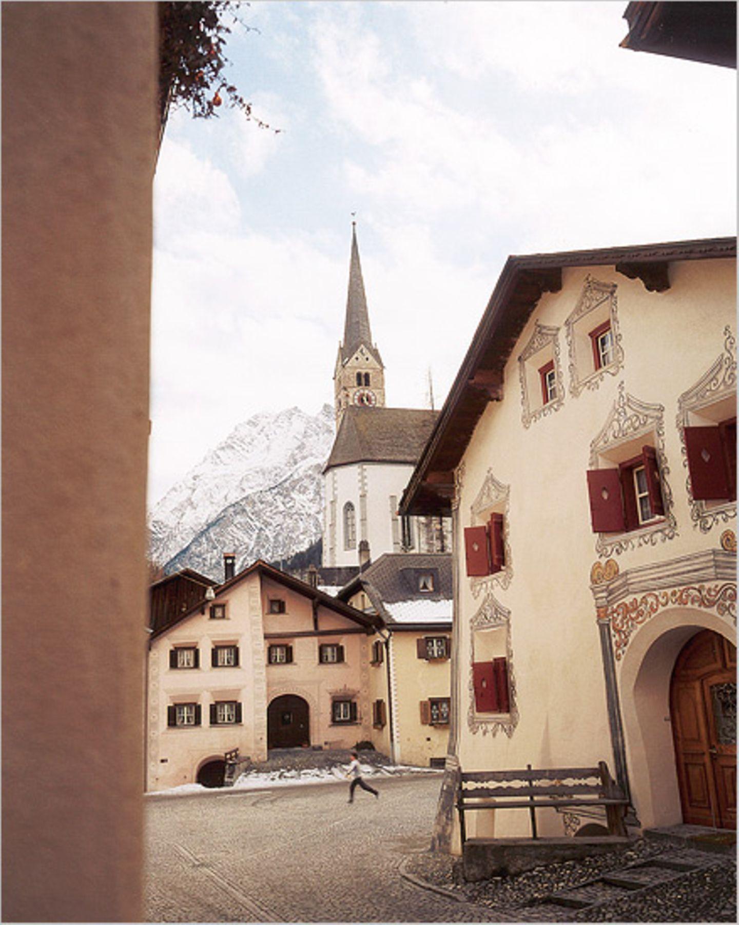 Schweizer Alpen: Winterwandern im Unterengadin - Bild 2