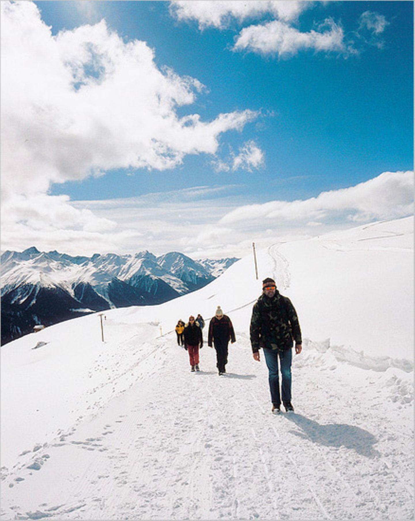 Schweizer Alpen: Winterwandern im Unterengadin - Bild 6