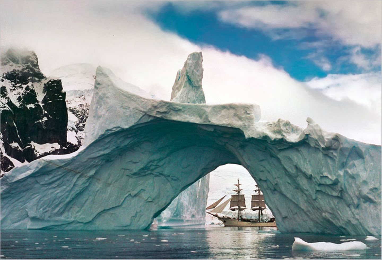 Antarktis: Unter Segeln zum Südpol