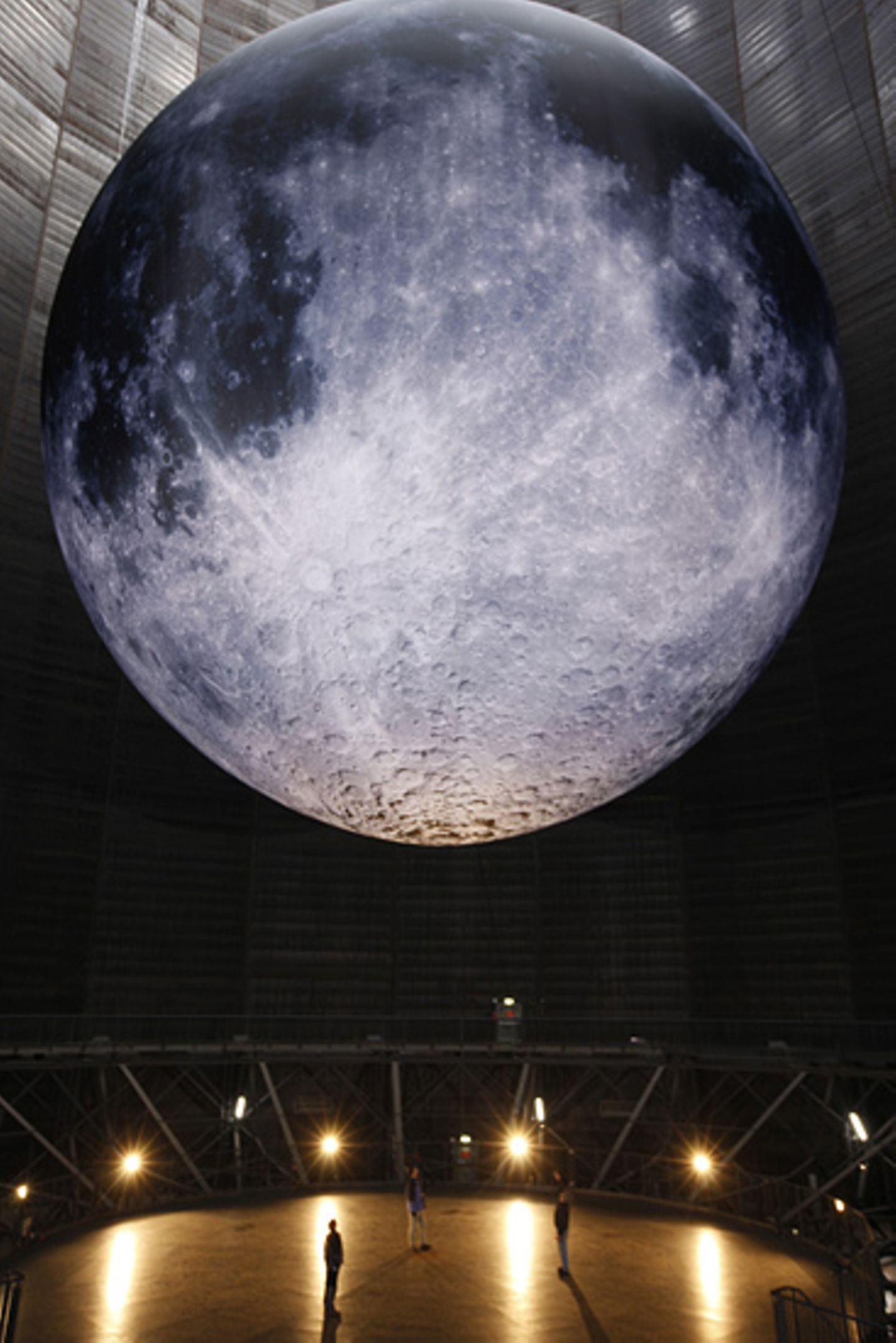 Der größte Mond auf Erden