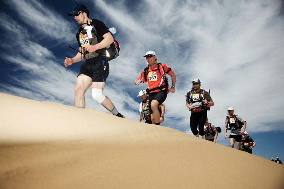 Marokko: Marathon durch die Wüste