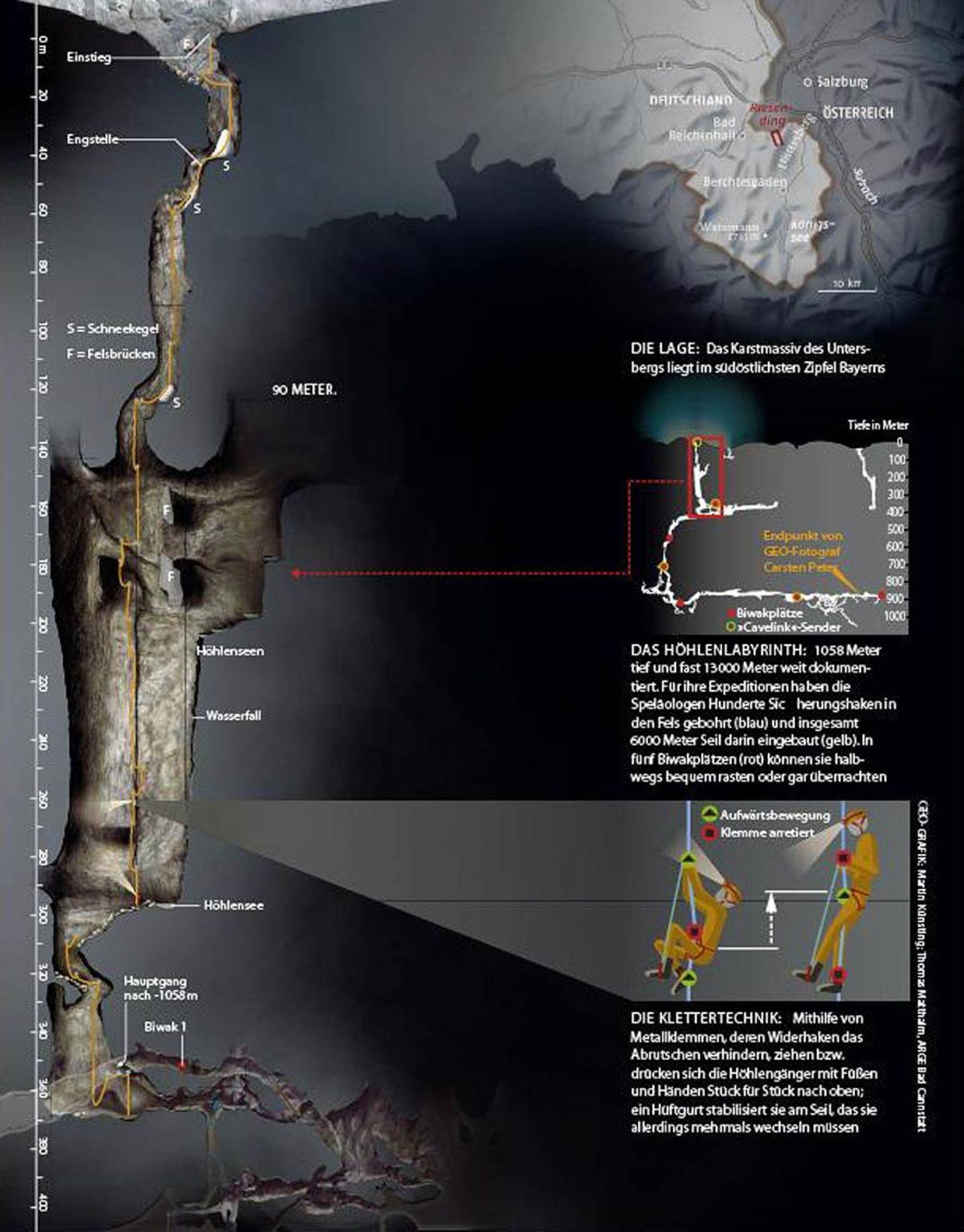 Riesending: In der tiefsten Höhle Deutschlands - Bild 10