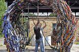 Fotoshow: Kunst aus Müll - Bild 2