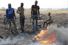 Elektroschrott-Halde von Accra